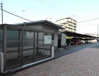 金沢八景ハイム-ゴミ置き場-w400