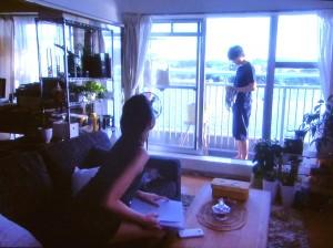 窓からの景色-P1010641