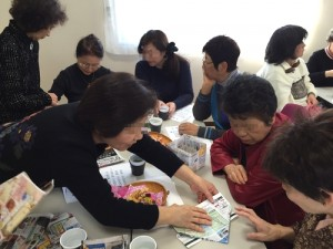サロン・折り紙-ゴミ箱^g218